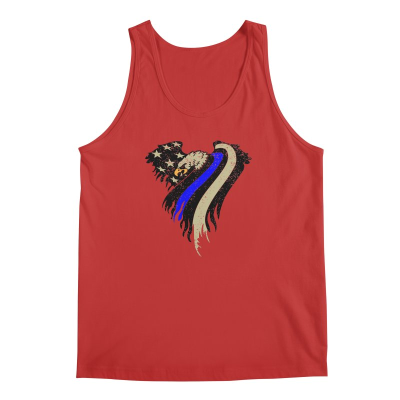 Law Enforcement Eagle Flag Men's Tank by Hassified