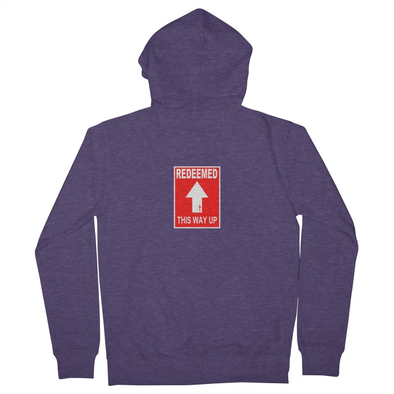 Redeemed, This Way Up Men's Zip-Up Hoody by Hassified