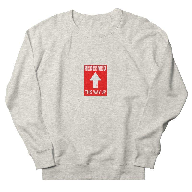 Redeemed, This Way Up Men's Sweatshirt by Hassified