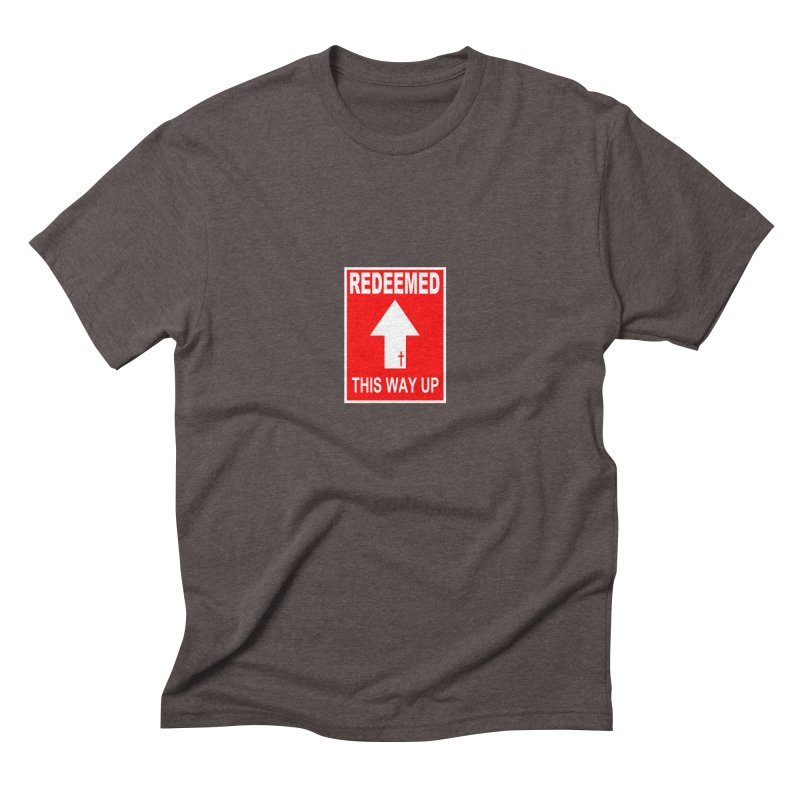 Redeemed, This Way Up Men's Triblend T-Shirt by Hassified