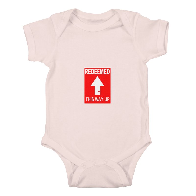 Redeemed, This Way Up Kids Baby Bodysuit by Hassified
