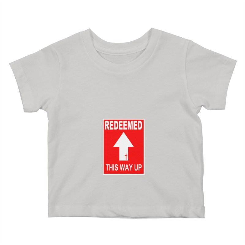 Redeemed, This Way Up Kids Baby T-Shirt by Hassified