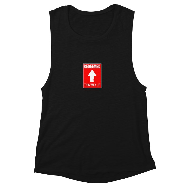 Redeemed, This Way Up Women's Muscle Tank by Hassified
