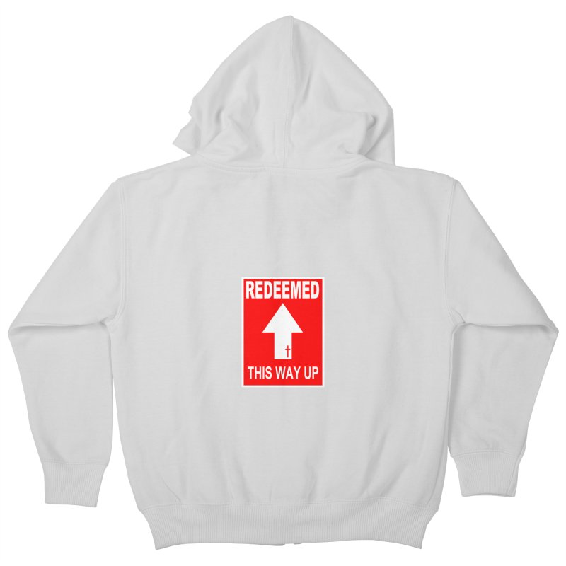 Redeemed, This Way Up Kids Zip-Up Hoody by Hassified