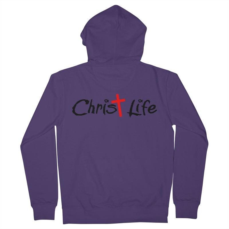 Christ Life Women's Zip-Up Hoody by Hassified