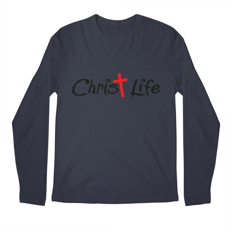 Christ Life Men's Regular Longsleeve T-Shirt by Hassified
