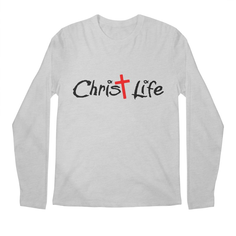 Christ Life Men's Regular Longsleeve T-Shirt by Hassified