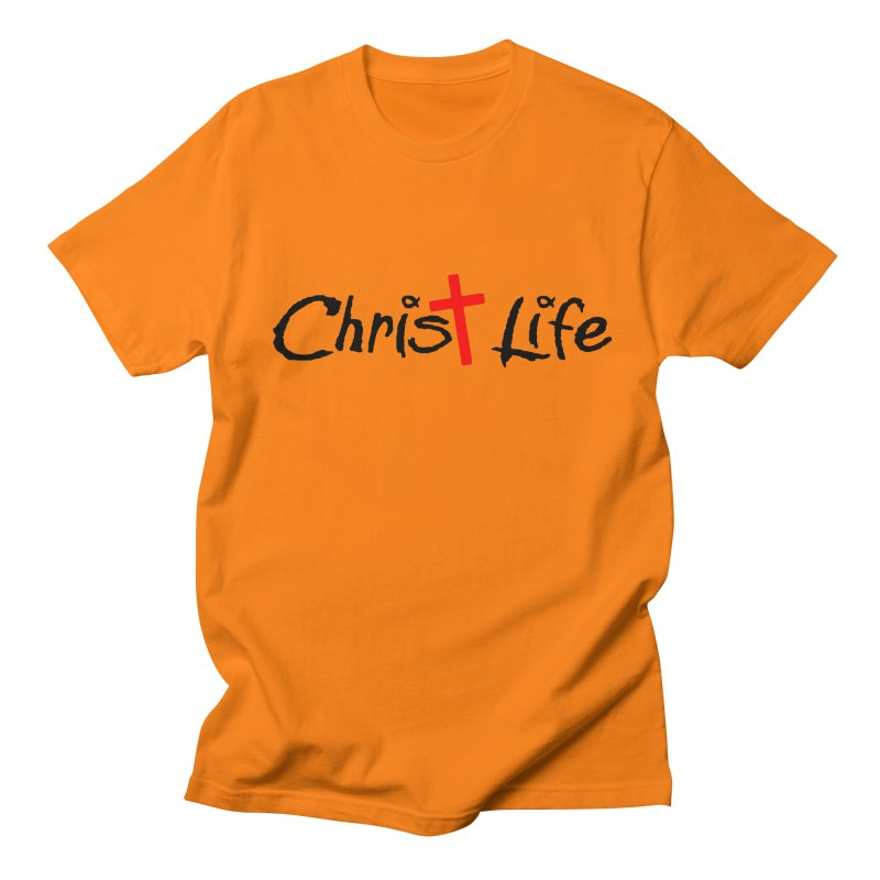 Christ Life Men's Regular T-Shirt by Hassified