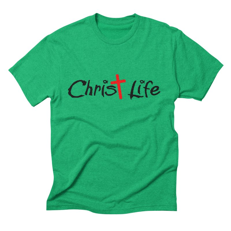 Christ Life Men's Triblend T-Shirt by Hassified