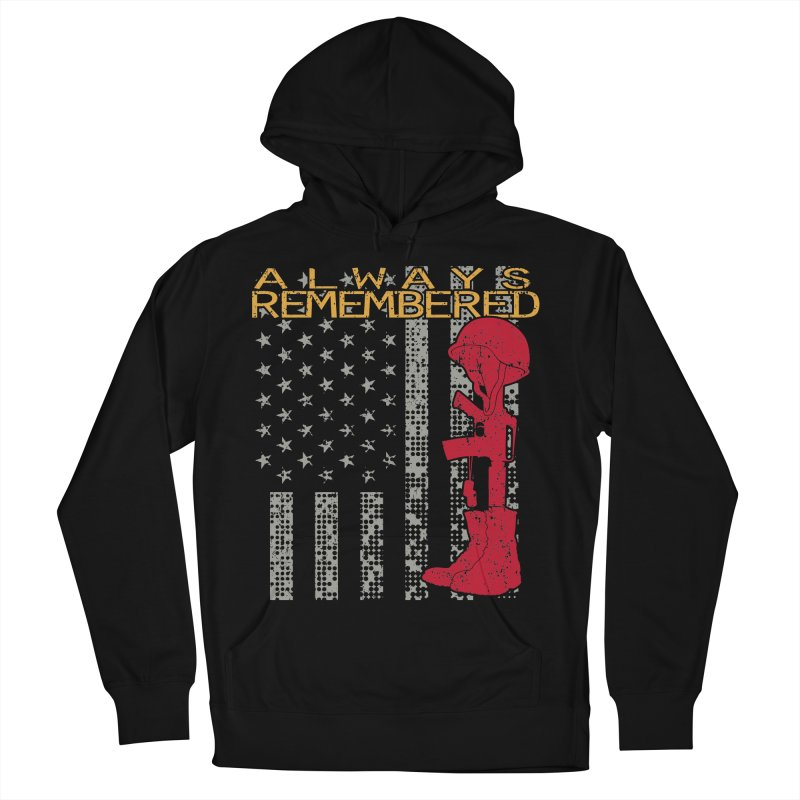Always Remembered Men's Pullover Hoody by Hassified