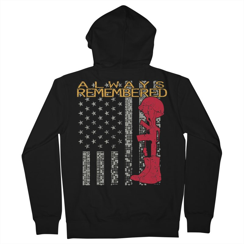 Always Remembered Women's Zip-Up Hoody by Hassified