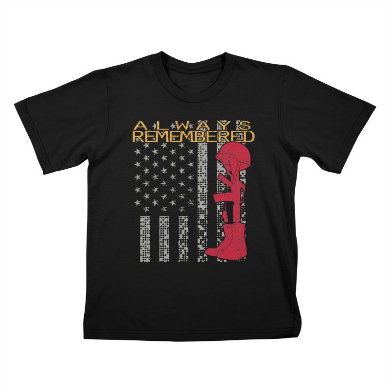 Always Remembered Kids T-Shirt by Hassified
