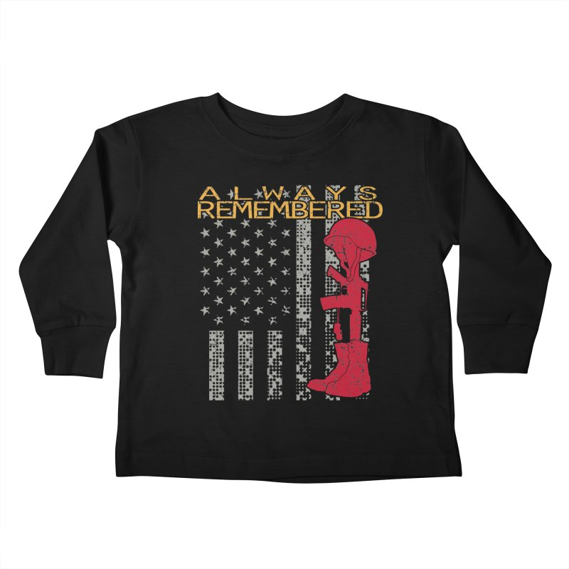 Always Remembered Kids Toddler Longsleeve T-Shirt by Hassified