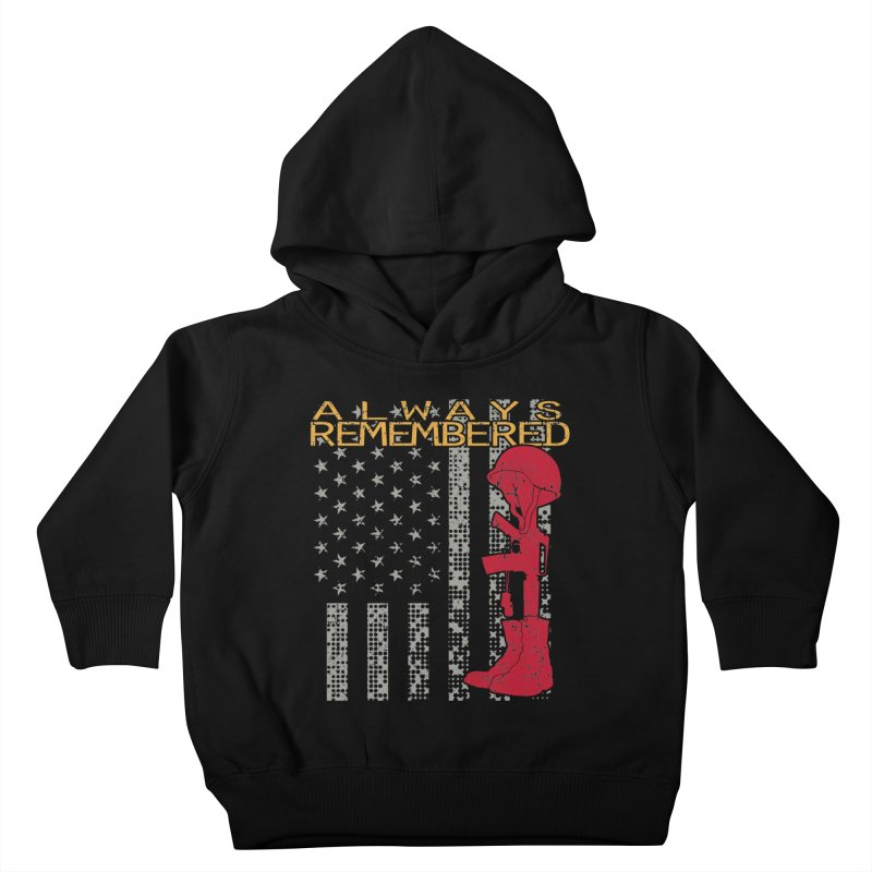 Always Remembered Kids Toddler Pullover Hoody by Hassified