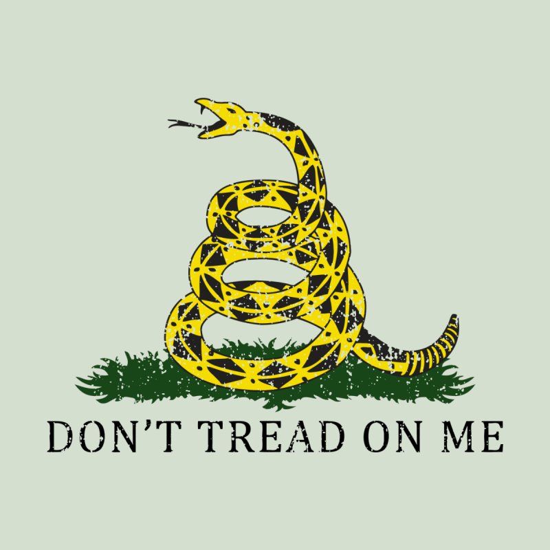 Gadsden, Don't Tread on Me Men's Pullover Hoody by Hassified