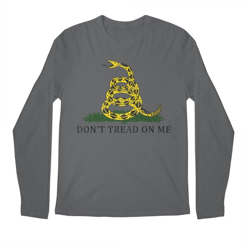 Gadsden, Don't Tread on Me Men's Longsleeve T-Shirt by Hassified