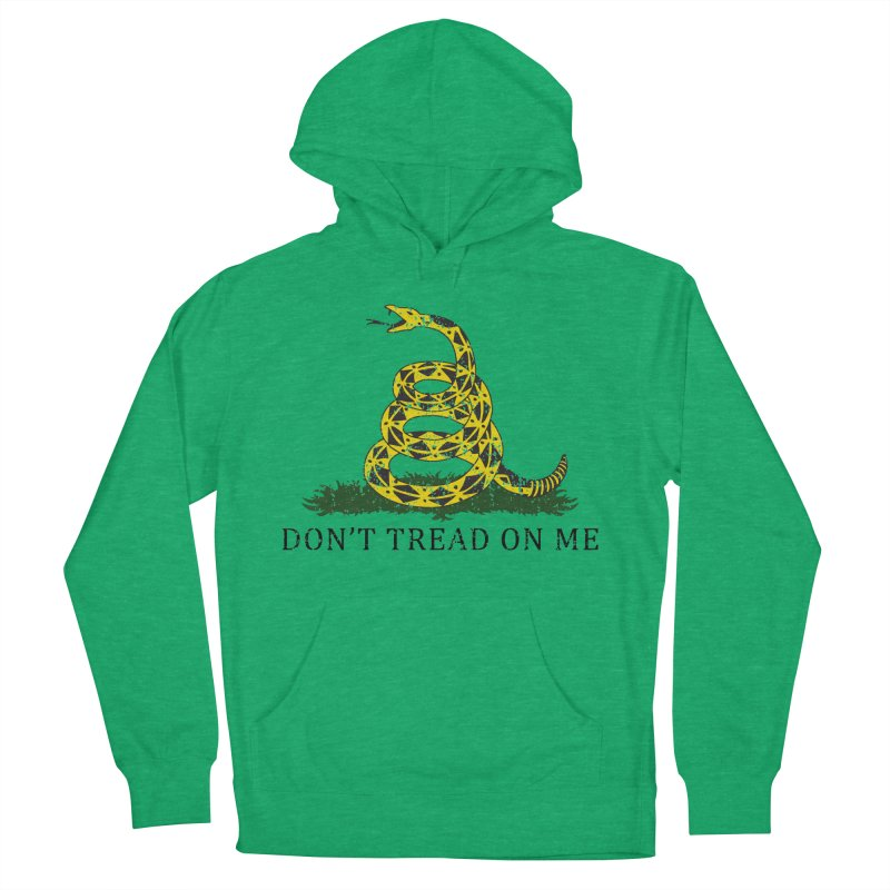 Gadsden, Don't Tread on Me Women's French Terry Pullover Hoody by Hassified