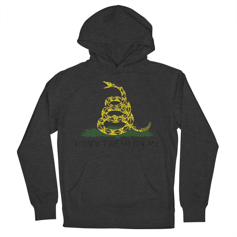 Gadsden, Don't Tread on Me Men's French Terry Pullover Hoody by Hassified