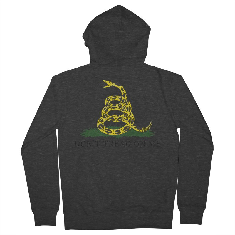 Gadsden, Don't Tread on Me Women's Zip-Up Hoody by Hassified