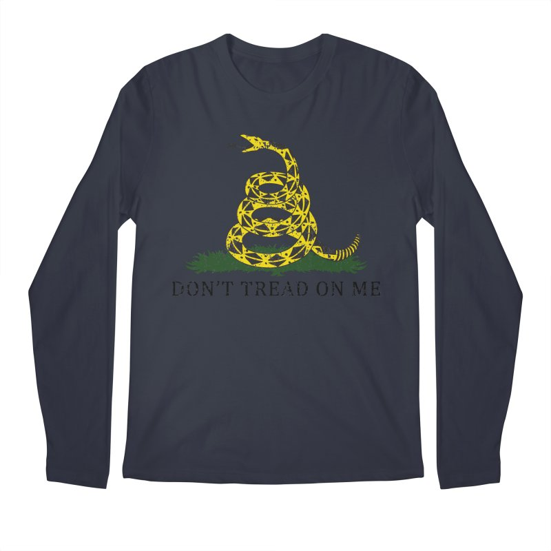 Gadsden, Don't Tread on Me Men's Longsleeve T-Shirt by Hassified