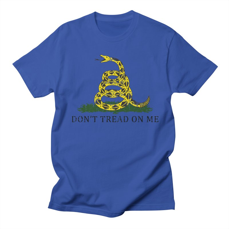 Gadsden, Don't Tread on Me Men's Regular T-Shirt by Hassified