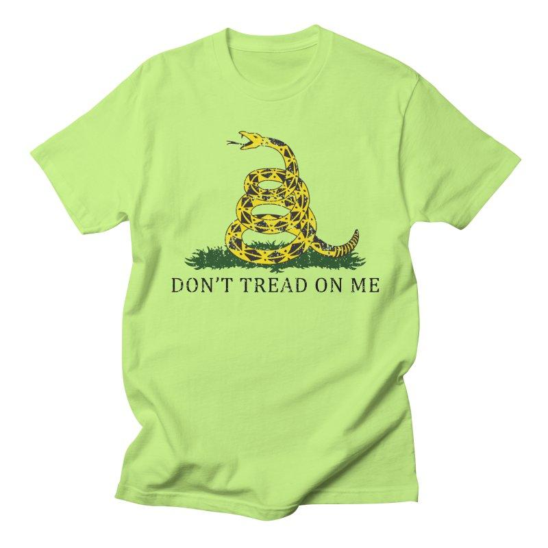 Gadsden, Don't Tread on Me Men's Regular T-Shirt by Hassified