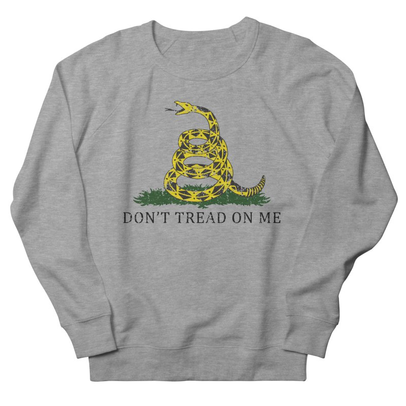 Gadsden, Don't Tread on Me Men's French Terry Sweatshirt by Hassified
