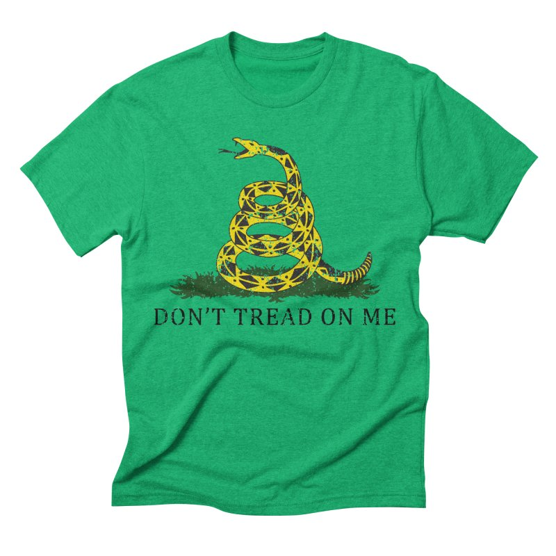 Gadsden, Don't Tread on Me Men's Triblend T-shirt by Hassified