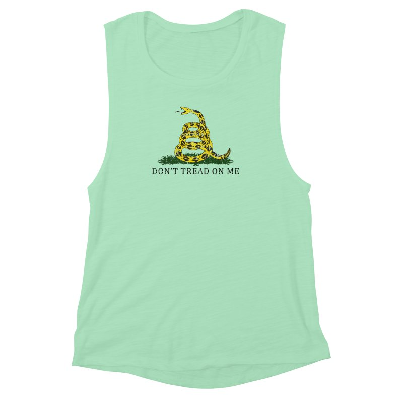 Gadsden, Don't Tread on Me Women's Muscle Tank by Hassified