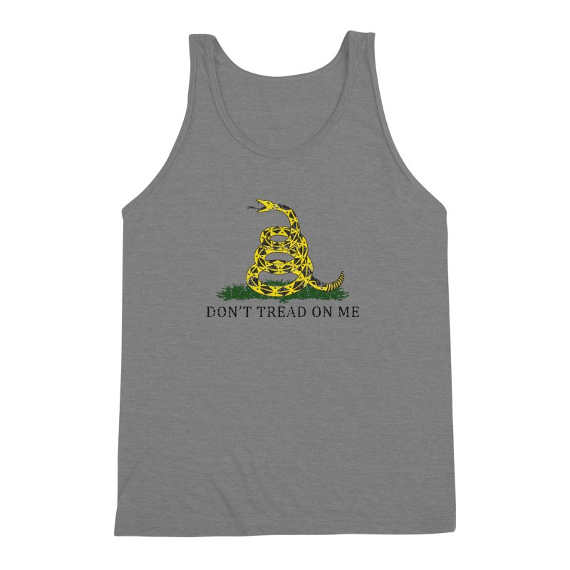 Gadsden, Don't Tread on Me Men's Triblend Tank by Hassified