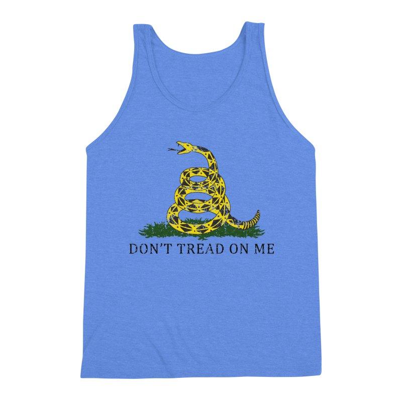 Gadsden, Don't Tread on Me Men's Triblend Tank by Hassified