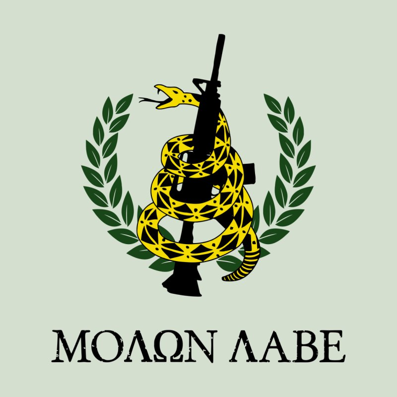 Gadsden Molon Labe Men's T-Shirt by Hassified