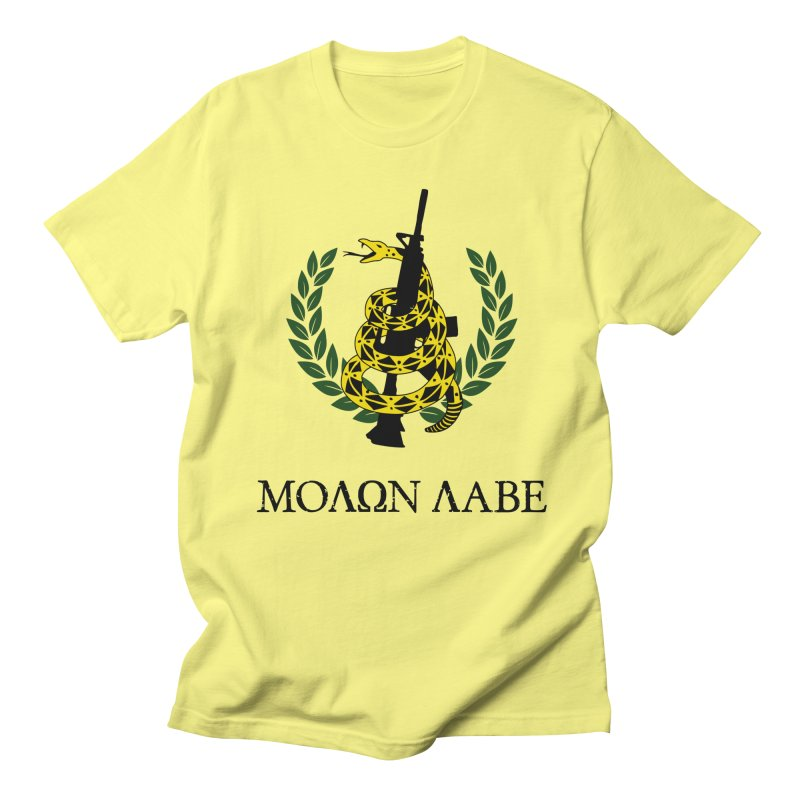 Gadsden Molon Labe Men's T-Shirt by Hassified