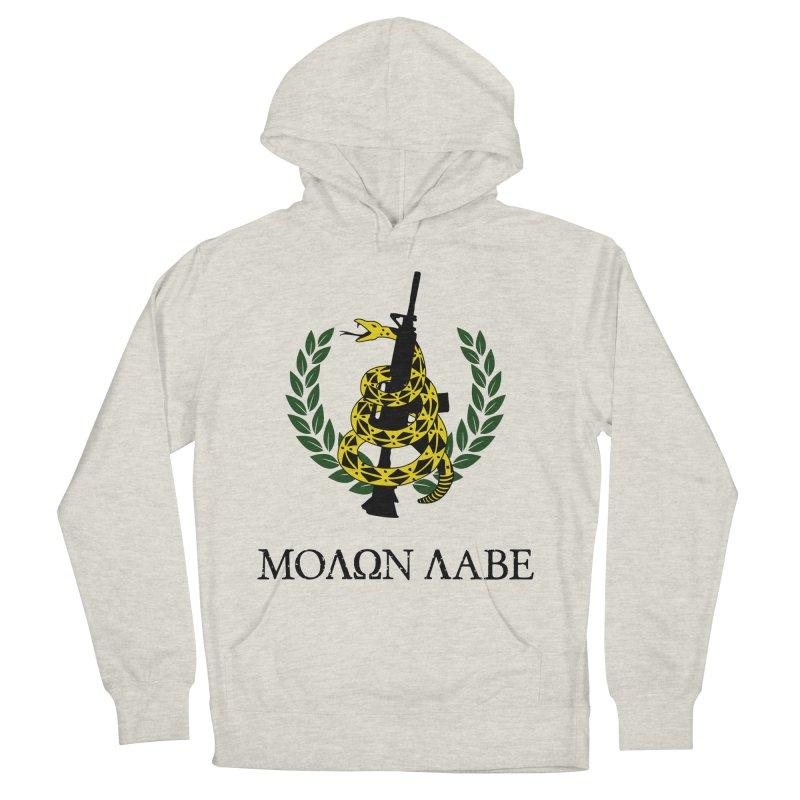 Gadsden Molon Labe Women's Pullover Hoody by Hassified