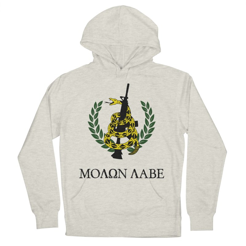 Gadsden Molon Labe Men's Pullover Hoody by Hassified