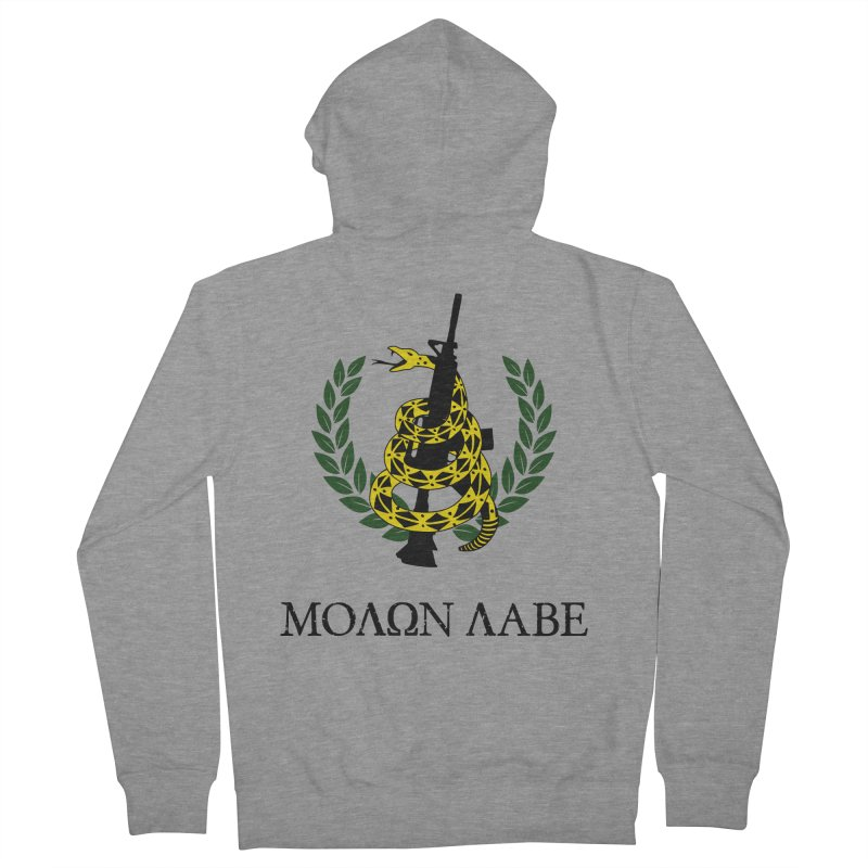 Gadsden Molon Labe Women's Zip-Up Hoody by Hassified