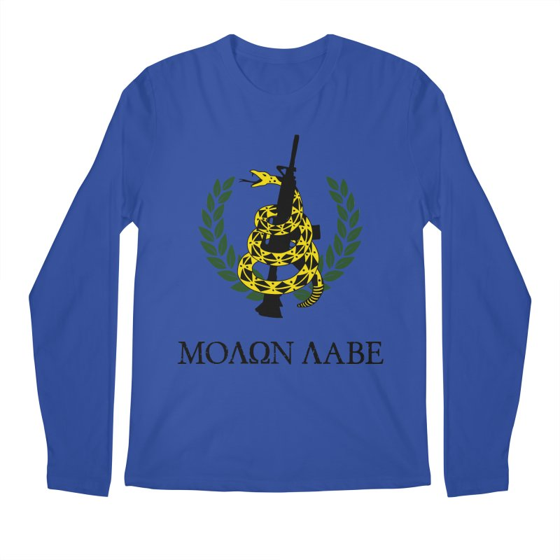 Gadsden Molon Labe Men's Longsleeve T-Shirt by Hassified