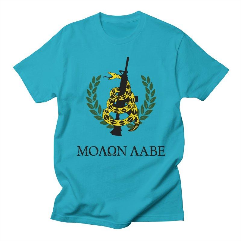 Gadsden Molon Labe Men's Regular T-Shirt by Hassified