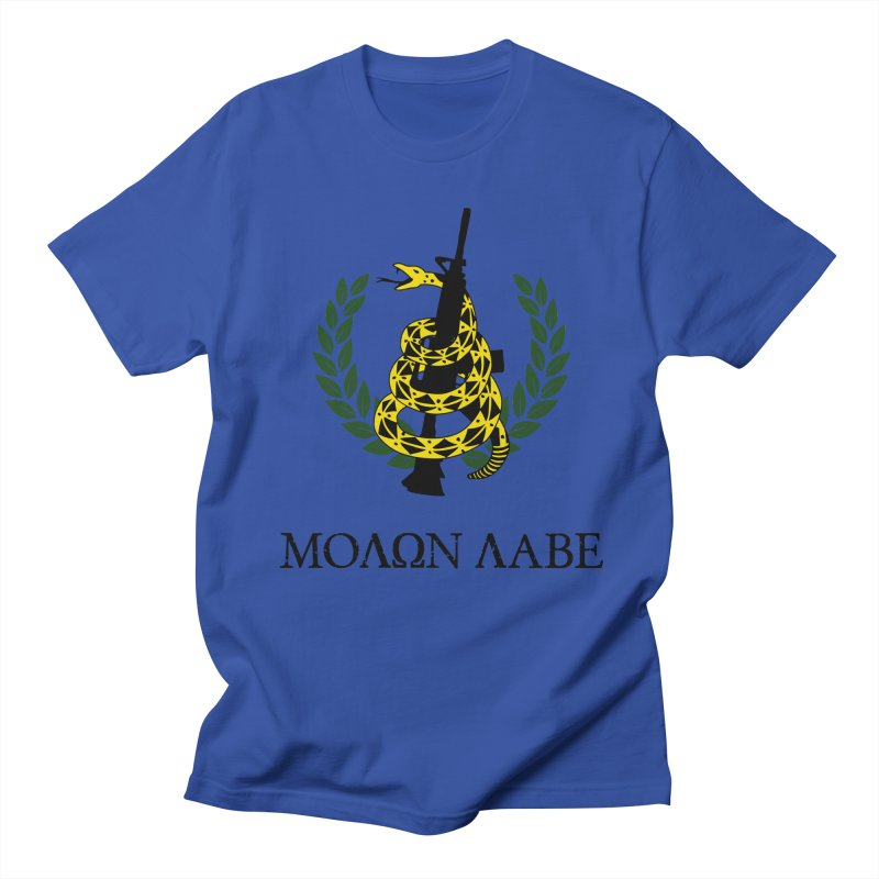 Gadsden Molon Labe Men's Regular T-Shirt by Hassified