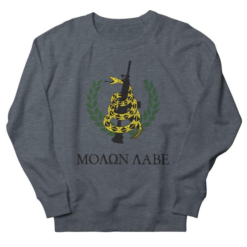 Gadsden Molon Labe Men's Sweatshirt by Hassified