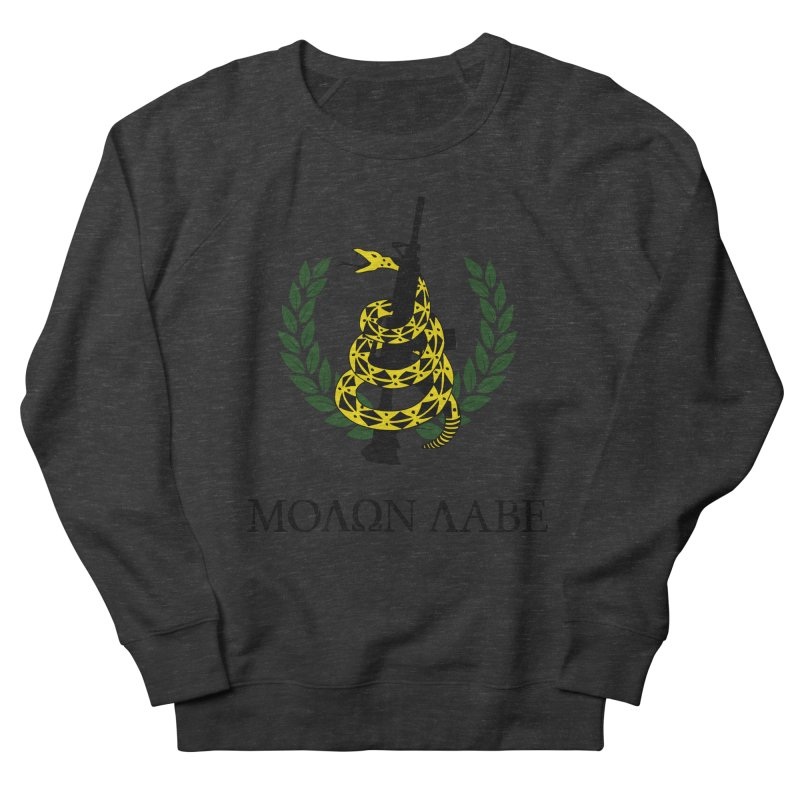 Gadsden Molon Labe Men's Sweatshirt by Hassified