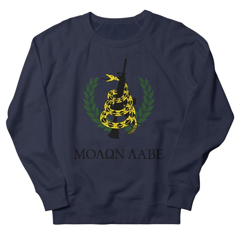 Gadsden Molon Labe Men's French Terry Sweatshirt by Hassified