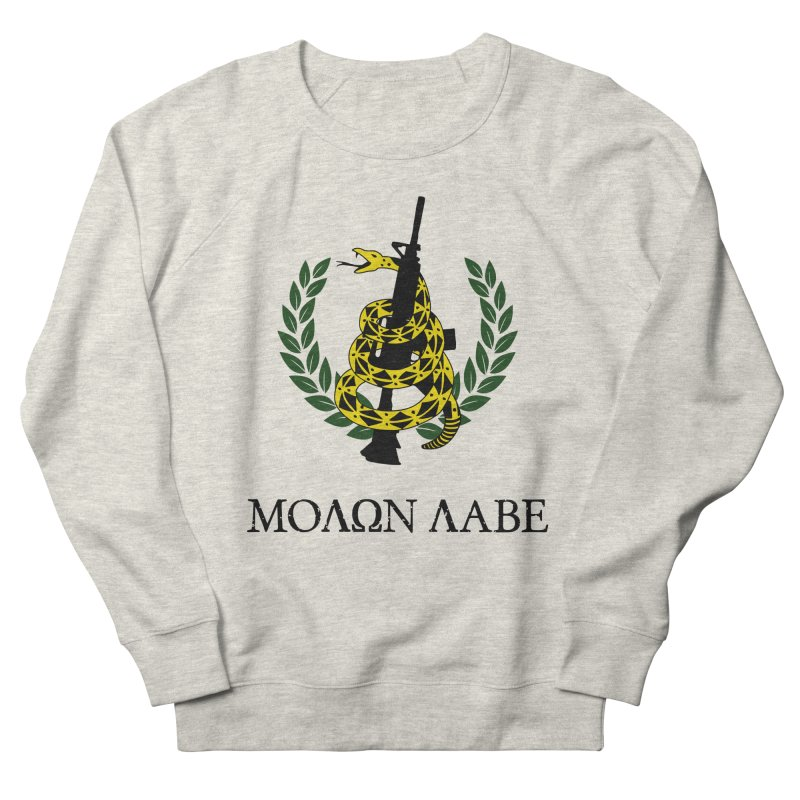 Gadsden Molon Labe Men's French Terry Sweatshirt by Hassified