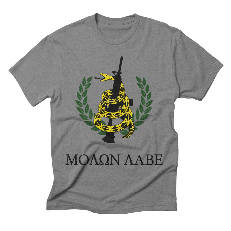 Gadsden Molon Labe Men's Triblend T-shirt by Hassified