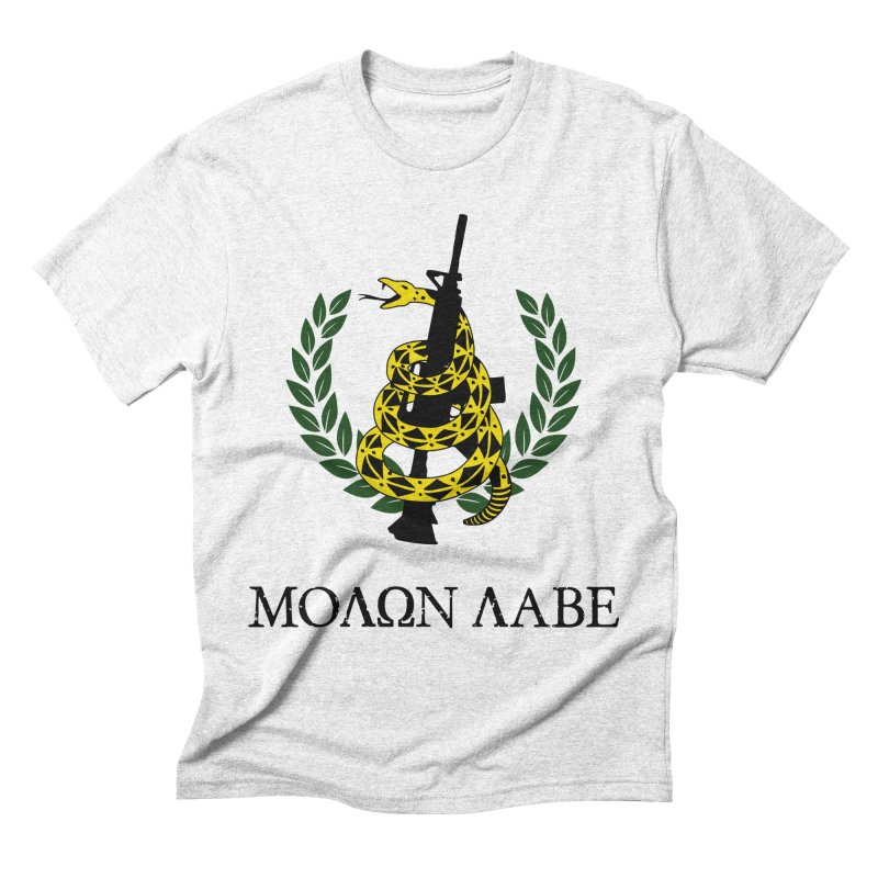 Gadsden Molon Labe Men's Triblend T-shirt by Hassified