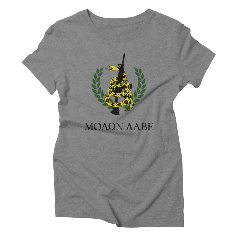 Gadsden Molon Labe Women's Triblend T-Shirt by Hassified