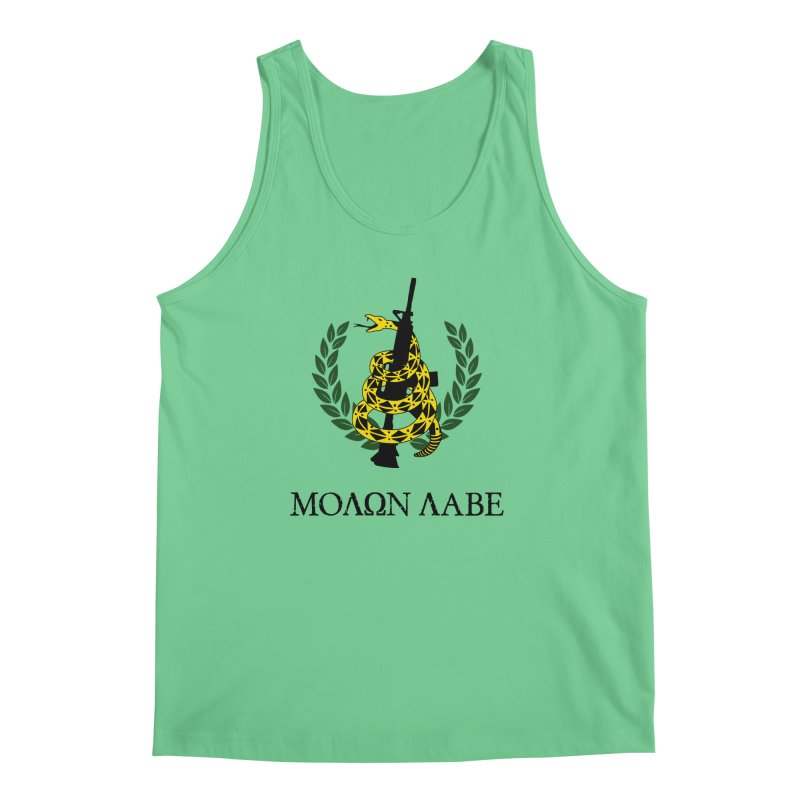 Gadsden Molon Labe Men's Tank by Hassified