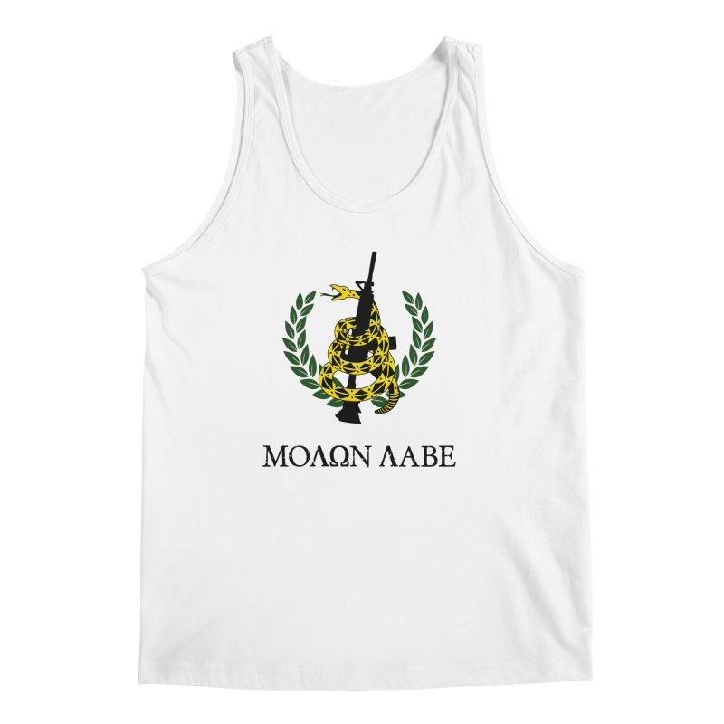Gadsden Molon Labe Men's Regular Tank by Hassified