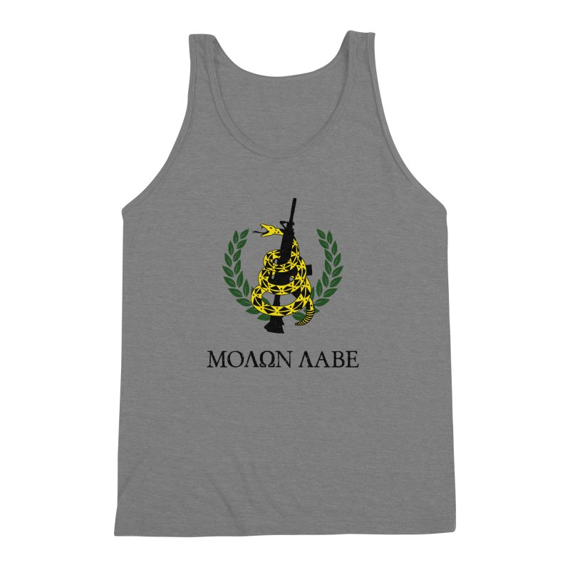 Gadsden Molon Labe Men's Triblend Tank by Hassified