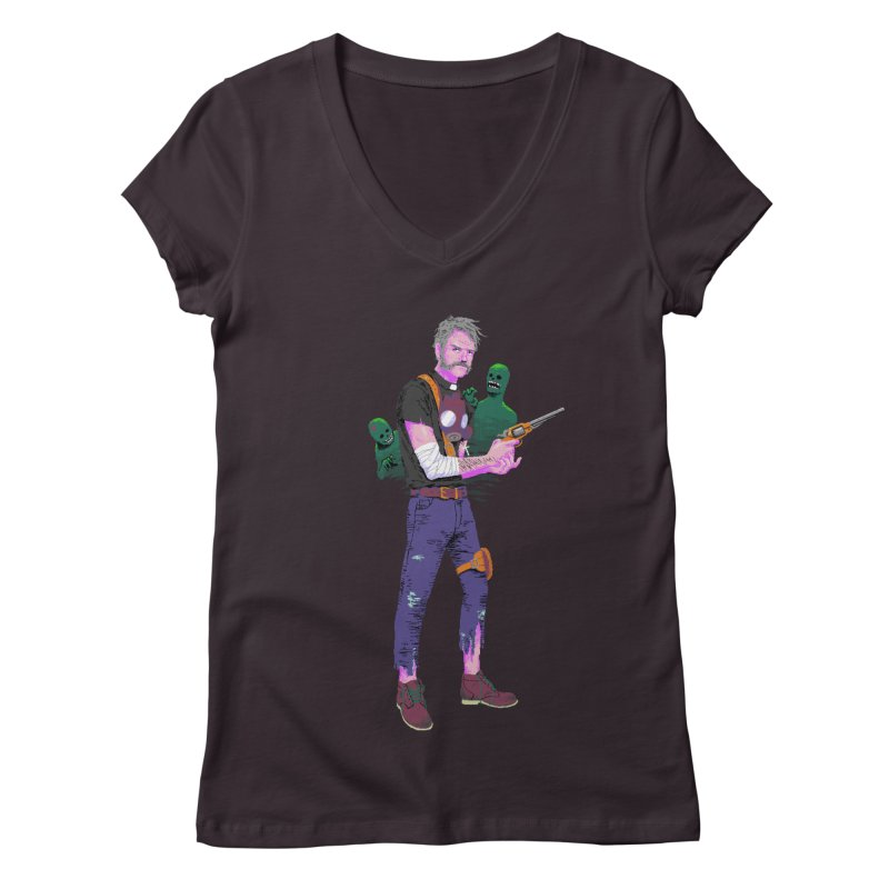 Survivor Clements Women's Regular V-Neck by The Men Who Wear Many Hats
